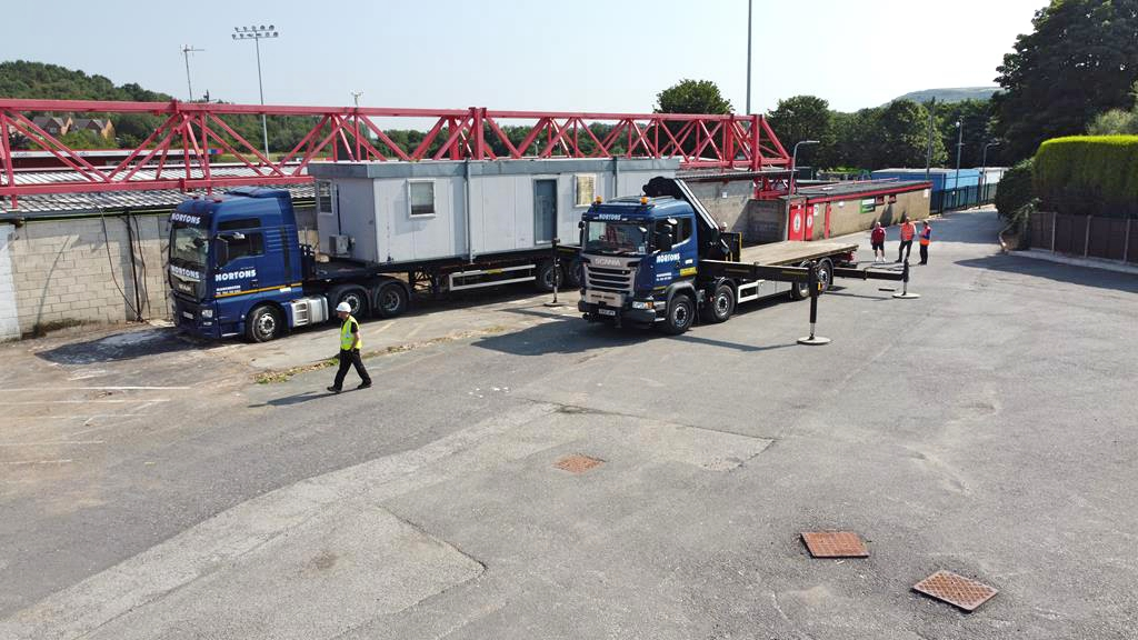 portable cabins transport
